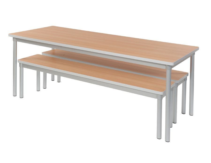 Gopak enviro indoor dining bench tables for Dining table with bench