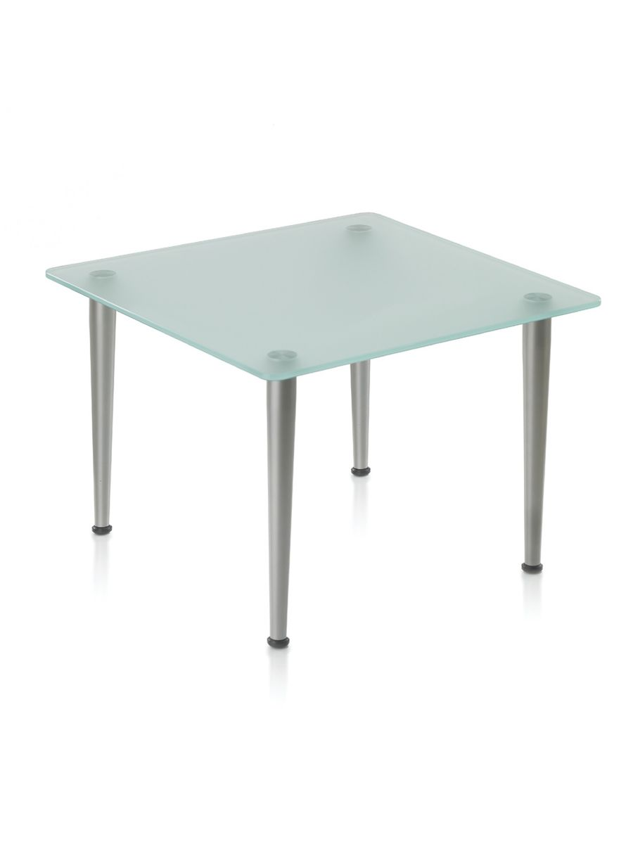 AREA SQUARE GLASS COFFEE TABLE