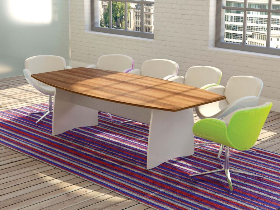 BARREL BOARDROOM TABLE 2400