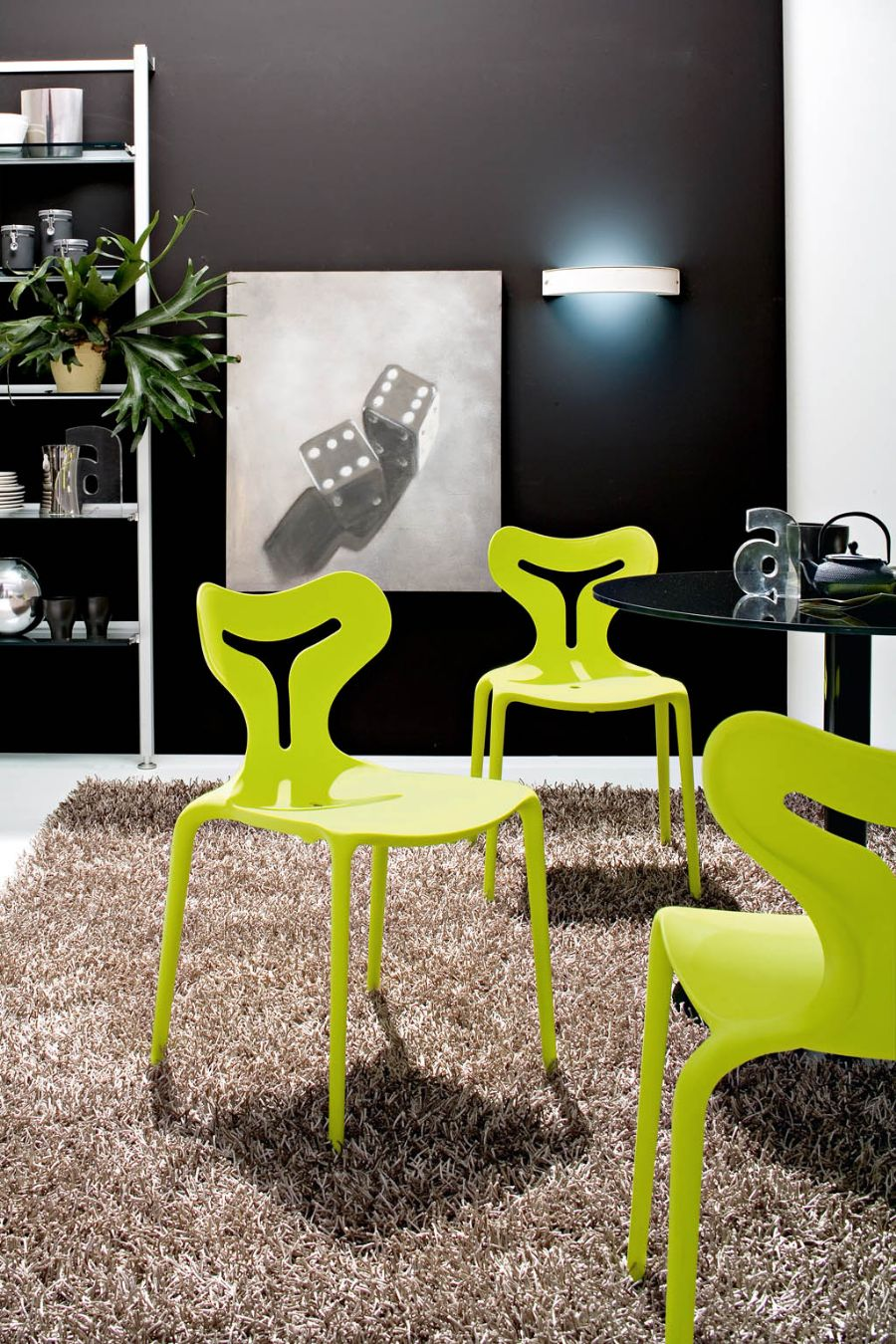 AREA 51 BY CALLIGARIS DINING CHAIR