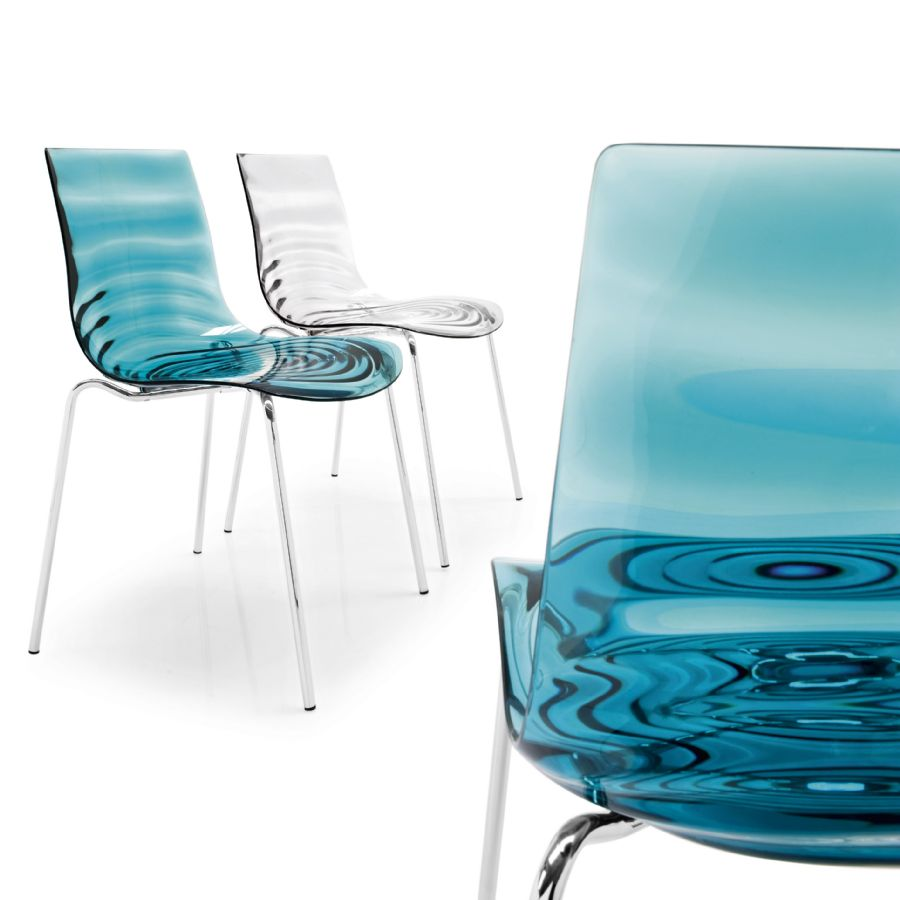 Lu0027EAU BY CALLIGARIS DINING CHAIR