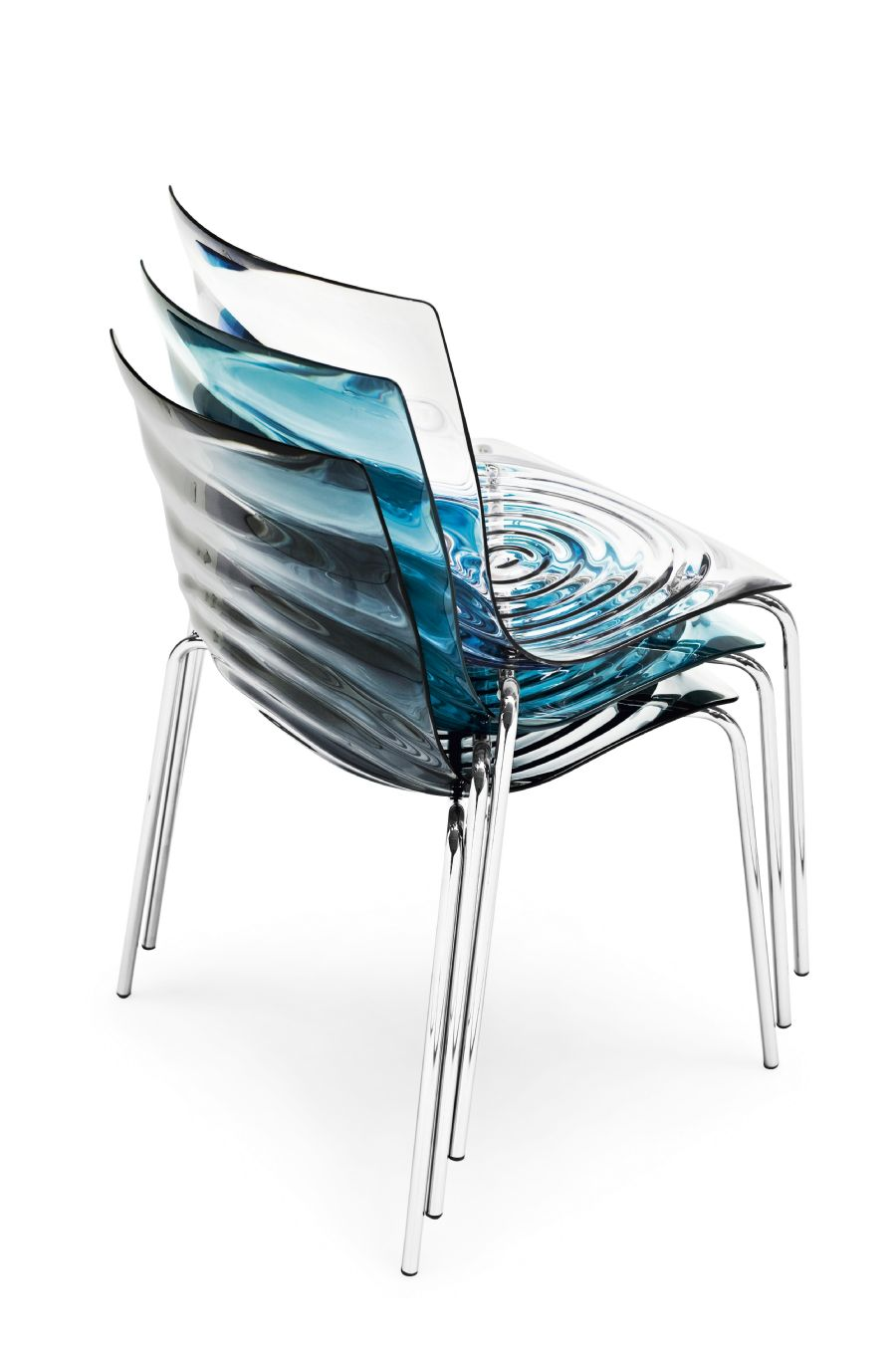 L'EAU BY CALLIGARIS CHROME VISITOR CHAIR