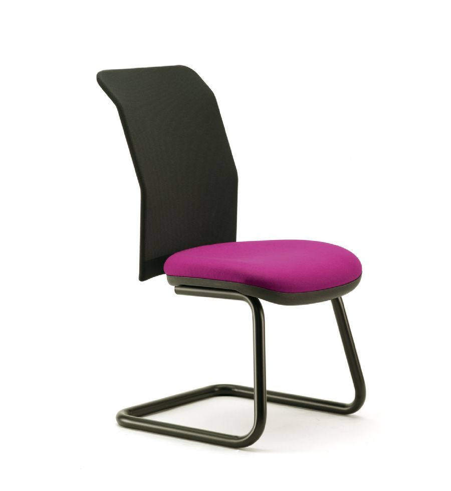 RIBA VISITOR CANTILEVER CHAIR WITH MESH ...