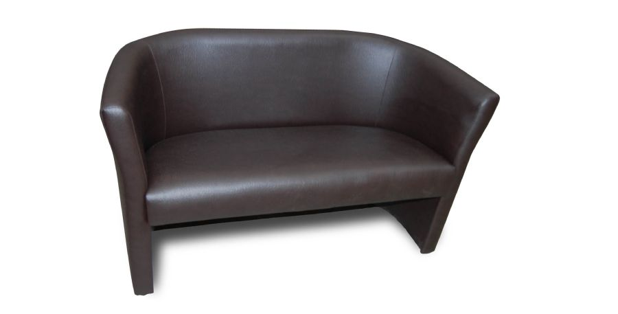 two seater small tub sofa. Black Bedroom Furniture Sets. Home Design Ideas