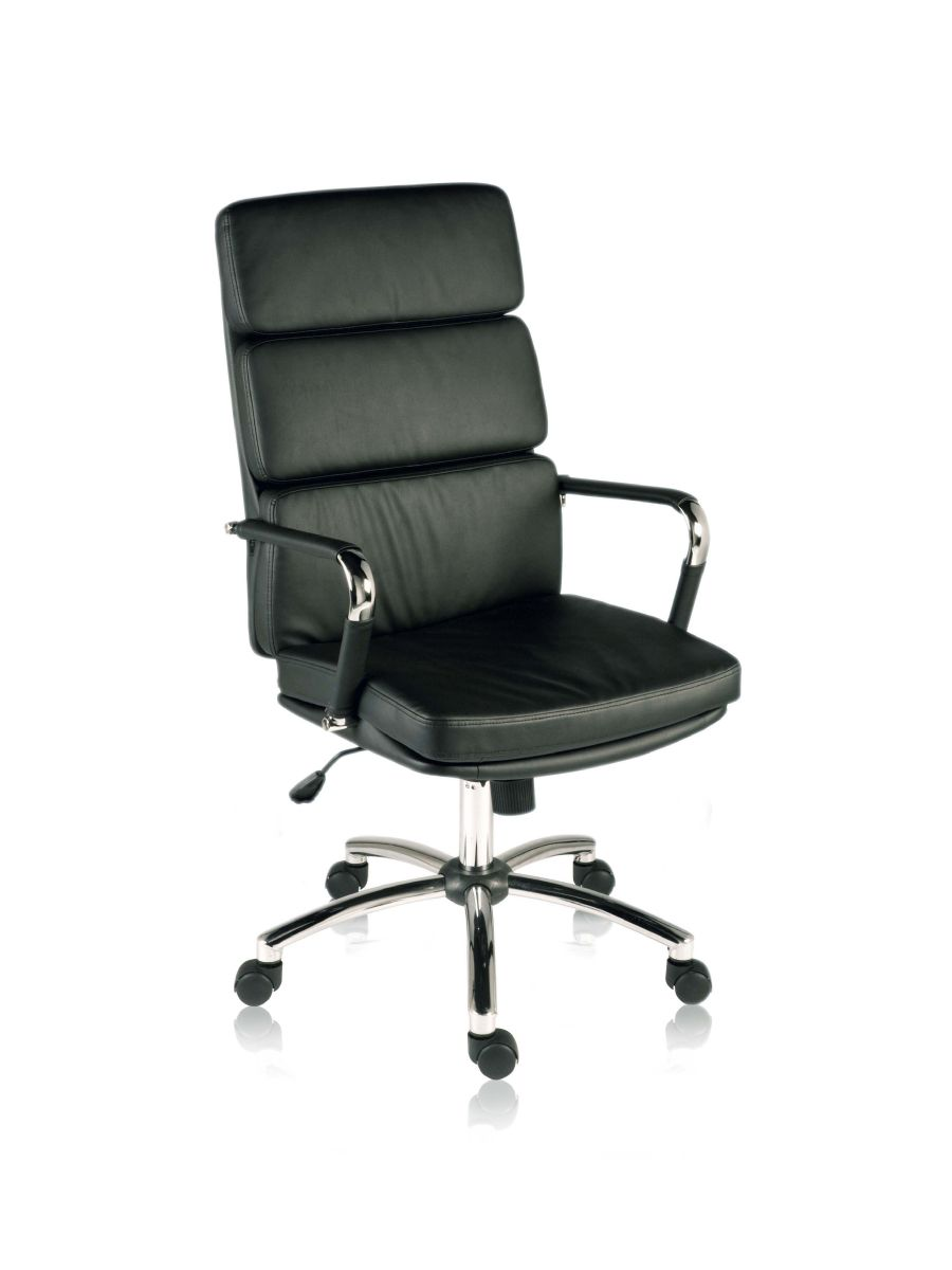CODE BLACK RETRO SWIVEL EXECUTIVE CHAIR
