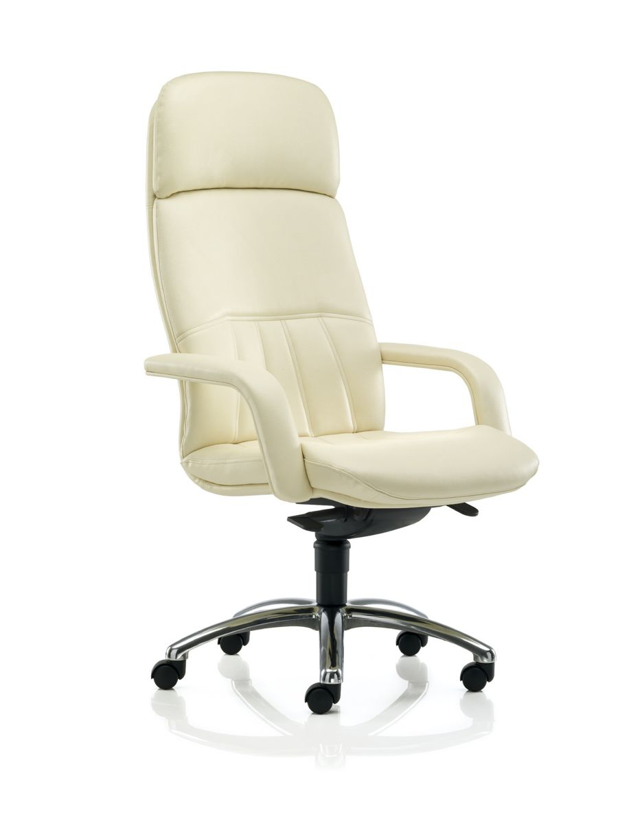 FIORI LEATHER SWIVEL EXECUTIVE CHAIR