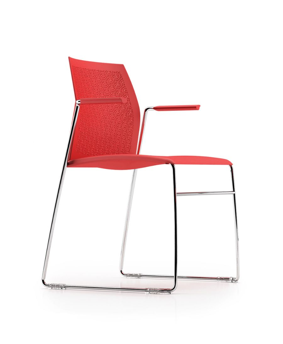 SHOT DINING CHAIR WITH ARMS