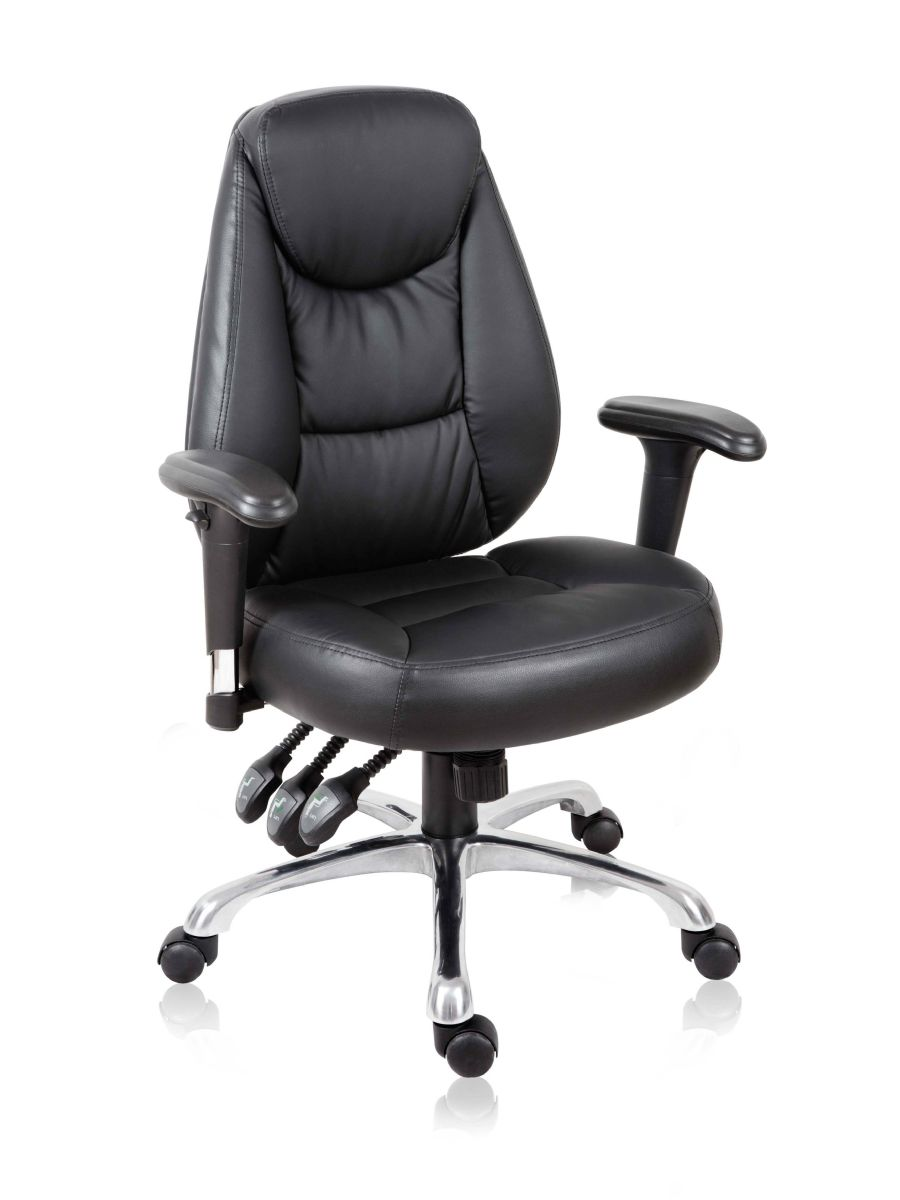 PORT BLACK SWIVEL EXECUTIVE CHAIR