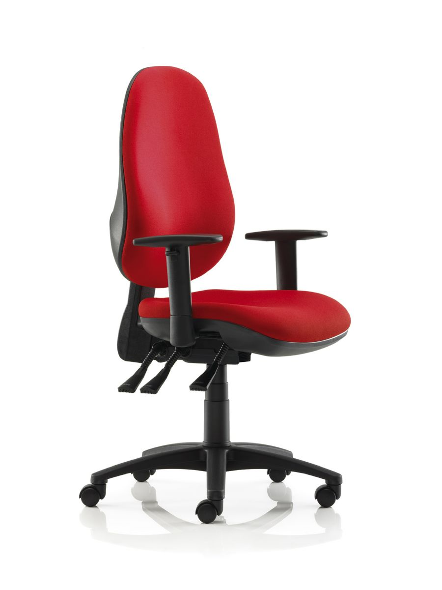 Office operator chairs for sale for sale at office by sos for Swivel chairs for office