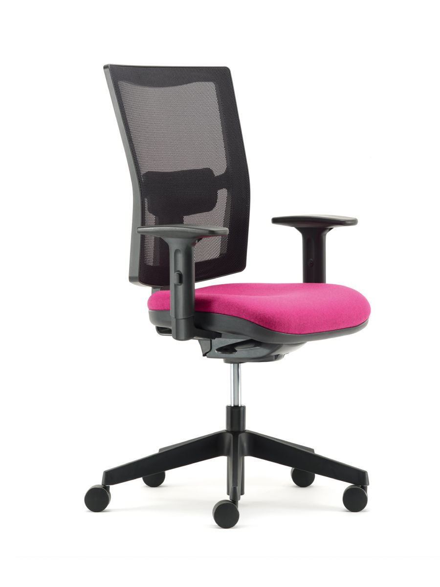 UNIT SWIVEL OFFICE CHAIR WITH ARMS